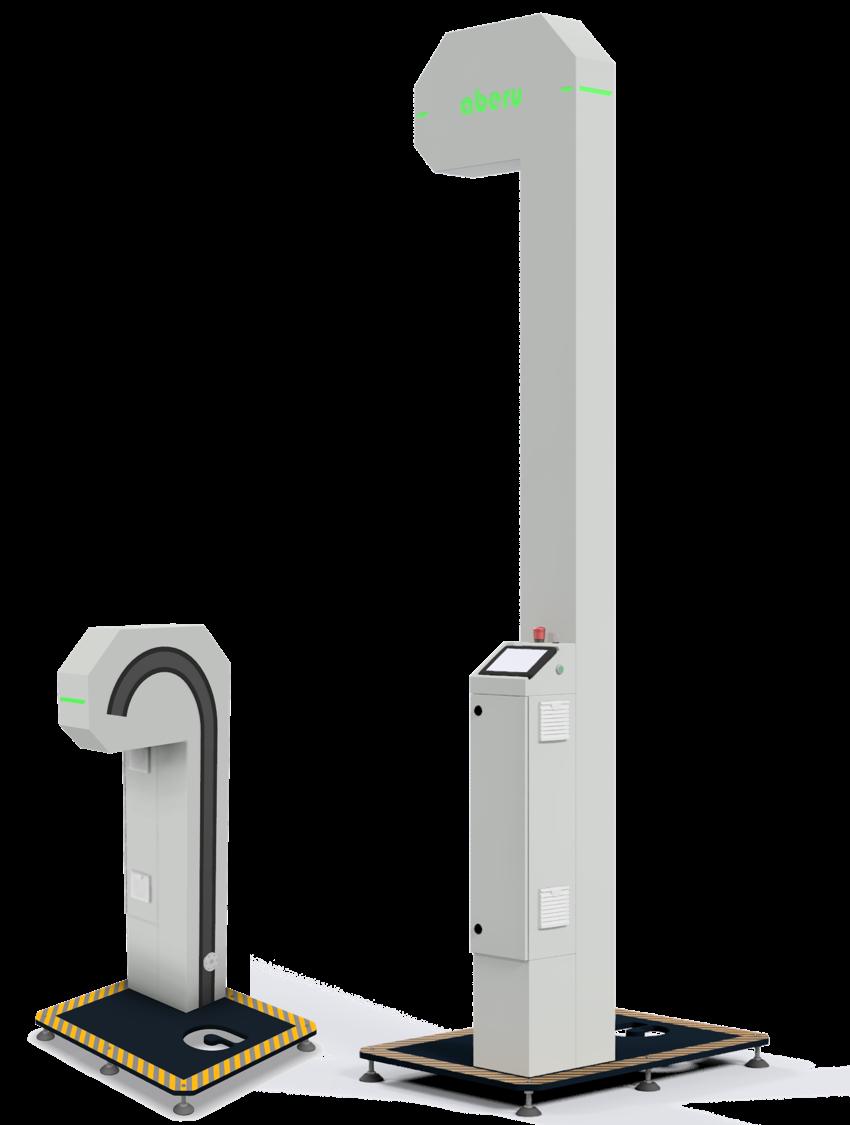 Hub-Kipp Gerät Schüttlift Kistenlift aberu